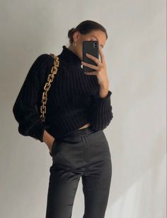 Cute Casual Outfits, Chic Outfits, Fashion Outfits, Womens Fashion, Fashion Killa, Look Fashion, Fall Winter Outfits, Autumn Winter Fashion, Aesthetic Clothes