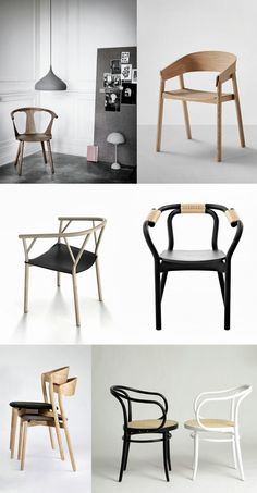 in between chair | &tradition — cover chair | muuto — valerie chair | giopato & coombes — knot chair | norman copenhagen — tube chair | giopato & coombes — thonet chair | ton