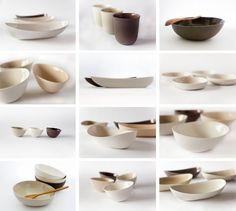 """I am touched by lines, curves, textures, pebbles,"" says Montreal-based ceramicist Basma Osama of Ceramik B. Osama makes tableware notable f..."