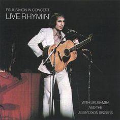 Paul Simon Live Rhymin