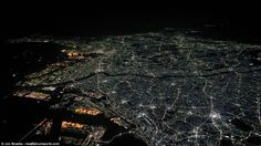 This special shot shows Tokyo, Japan. The stunning photos show some of the most recognisab...