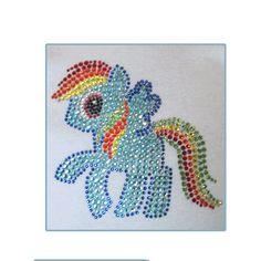 Rainbow Dash Birthday Tee  Sparkly Rainbow by TutuCutiesBoutique, $40.00