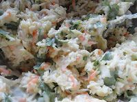 Tangy Cilantro Jalapeno Lime Coleslaw | Serena Bakes Simply From Scratch