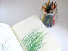 The Write Start beginning journaling idea for pre-writers color journal