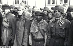 Soviet prisoners of war in Mauthausen-Gusen concentration camp, October 1941
