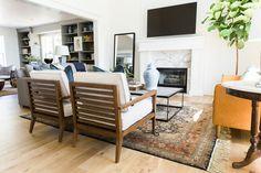Alpine – Shop House of Jade Formal Living Rooms, Home Living Room, Living Spaces, Alpine Modern, Room Interior Design, Home Remodeling, Outdoor Furniture Sets, Jade, Wood Mantels