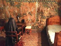 Reconstruction of Marie's cell in the Conciergerie