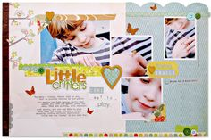 kim watson ★ design ★ papercraft: There's a spring in my step+ layouts
