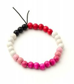 A bracelet to keep track of your period cycle.