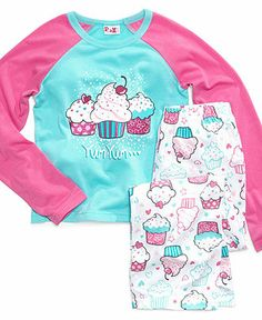 PJ & Me Kids Pajamas, Girls or Little Girls Live Dream Laugh 2 ...