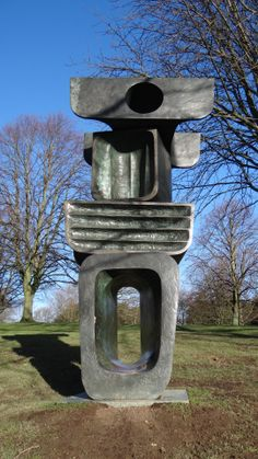 Barbara Hepworth sculpture in the Yorkshire Sculpture Park