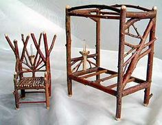 Fairy Houses, Twig Furniture For Sale. Lots Of DIY Ideas.