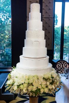 Tall white wedding cake: http://www.stylemepretty.com/collection/2361/