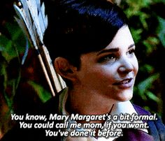 Yes, please just all her mom and call Charming dad, no matter how weird it may seem!!