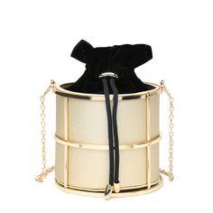2016 Chain Bag Woven Shoulder Bags Brand Women Mini Bags For Gift Party Small Bucket Messenger Bags For Women Schoudertas Dames