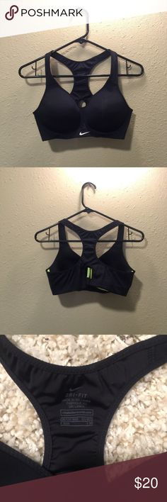 *Price Lowered!* Nike Pro Rival Sports Bra Nike Pro Rival High Compression Sports Bra in black. Dri Fit with High support - Like new! Nike Intimates & Sleepwear Bras