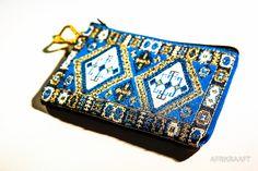 Credit card holder boho - AFRIKRAAFT