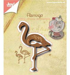 6002/0506 Joy Crafts - Cutting, Embossing & Debossing - Flamingo - 50x77mm