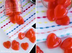 Berry-Lemonade Protein Gummies {DIY fruit snacks} | delicious by dre