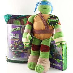 Teenage Mutant Ninja Turtles 4-Piece Toddler Bedding Set - Jay ...