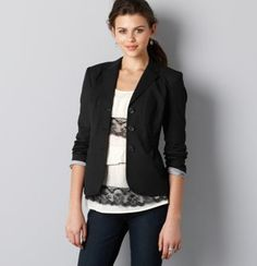 cute jackets always flatter