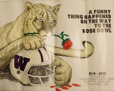 A funny thing happened 30 years ago. Go Cougs!