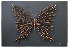 piano recycled   Butterfly
