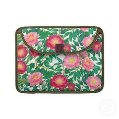 Oriental Tree Peonies Macbook/Macbook Pro Flap Sleeve