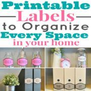 Printable Labels That'll Organize Every Space in Your Home