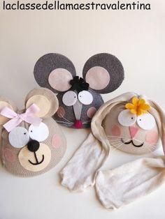Animal hats by La classe della maestra Valentina: ANIMALI...IN MASCHERA