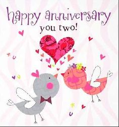 happy anniversary you two! tjn