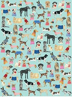 2019 的 wrap :: hot dogs ecowrap - ecojot - eco savvy paper p Dog Wallpaper, Pattern Wallpaper, Iphone Wallpaper, Dog Illustration, Illustrations, Gift Wrapping Paper, Surface Pattern Design, Art Plastique, Dog Art