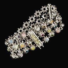 3 Row Wildflower bracelet with 18k gold accents   #jewelry #jewels #jewel #fashion #gems #gem #gemstone #bling #stones #stone #trendy #accessories #love #crystals #beautiful #ootd #style #fashionista #accessory #instajewelry #stylish #cute #jewelrygram #bowmanoriginals #fashionjewelry