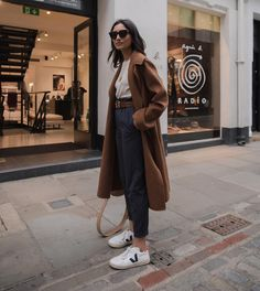 cute spring outfits with sneakers 32 ~ my.me cute spring outfits with sneakers. Cute Spring Outfits, Fall Winter Outfits, Autumn Winter Fashion, Casual Outfits, Fashion Outfits, Womens Fashion, Fashion Trends, Fashion Mode, Fashion Clothes
