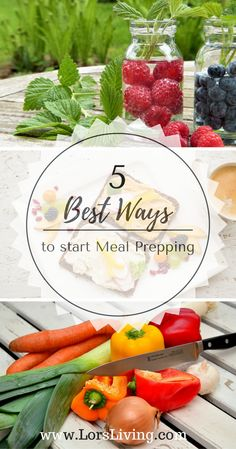 5 best way to meal prep