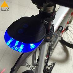 Lámpara de Advertencia de Seguridad Luz Trasera de la Bicicleta Luz Bicicleta MTB/Bicicleta de Luz LED 2 Láseres Noche Bicicleta de Montaña Luz Trasera luz trasera