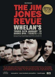 The Jim Jones Revue  Whelans  Thursday 24 January 2013
