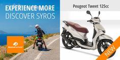 <p>10 καινούργια scooters Peugeot Tweet 125cc H Maistrali CarRental μετά από την πολυετή παρουσία της στο χώρο ενοικίασης αυτοκινήτων και ποδηλάτων στη Σύρο, με γραφεία στο λιμάνι της Ερμούπολης και στο αεροδρόμιο, τώρα εμπλουτίζει το στόλο της με 10 καινούργια…</p> Peugeot, Car Rental, Bicycle, Bicycle Kick, Trial Bike, Bike, Bicycles
