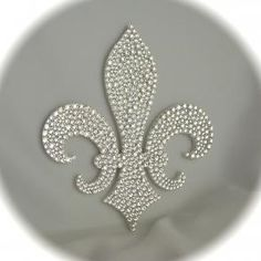 Fleur-de-lis Topper - Wedding Cake Topper - $128.00 http://www.bravobride.com/p/fleur-de-lis-topper-47542.html