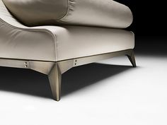 Sofa Legs, Couch, Sofa Furniture, Furniture Design, Unique Sofas, Slipper Chairs, Chair Bench, Occasional Chairs, Modern Sofa