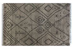 Sarikei Rug, Gray from Global Ground Lay Me Down, Black Floor, Interior Inspiration, Bohemian Rug, Area Rugs, Textiles, Flooring, Quilts, Blanket