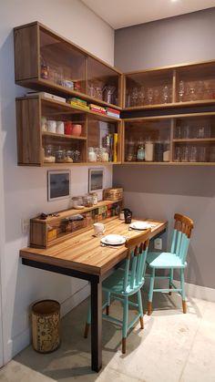 Projeto do Escritório Bel e Tef Atelier da Reforma - Cozinha Perdizes