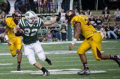 Ohio University Running Back Beau Blankenship