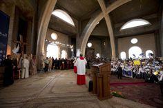 Papa Francisco visitou local do Batismo de Jesus e rezou pela conversão de quem alimenta a guerra | Secretariado Nacional da Pastoral da Cultura