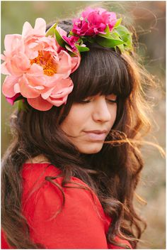 Peony Flower Crown - OH HEY THAT'S ME!