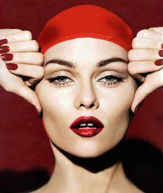 Vanessa Paradis photographed by Mert Alas and Marcus Piggott #fashion #celebrities