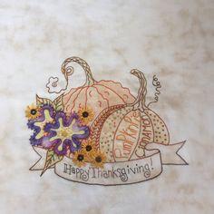 Crabapple Hill Studio Meg Hawkey's Happy Thanksgiving