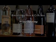 A new client video... Wine Tasting at Rincon Valley Wine & Craft Beer | Santa Rosa, CA - YouTube