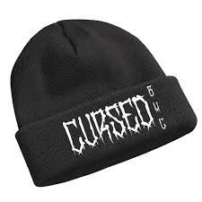 Cursed Beanie Hat – blackhopecurse Knit Beanie Hat, Easy Knitting, Screen Printing, Patches, Goals, Clothes, Black, Art, Screen Printing Press