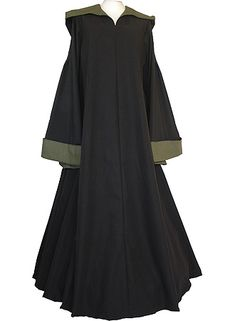 dornbluth.co.uk - medieval dresses Hannah Black- Olive Green